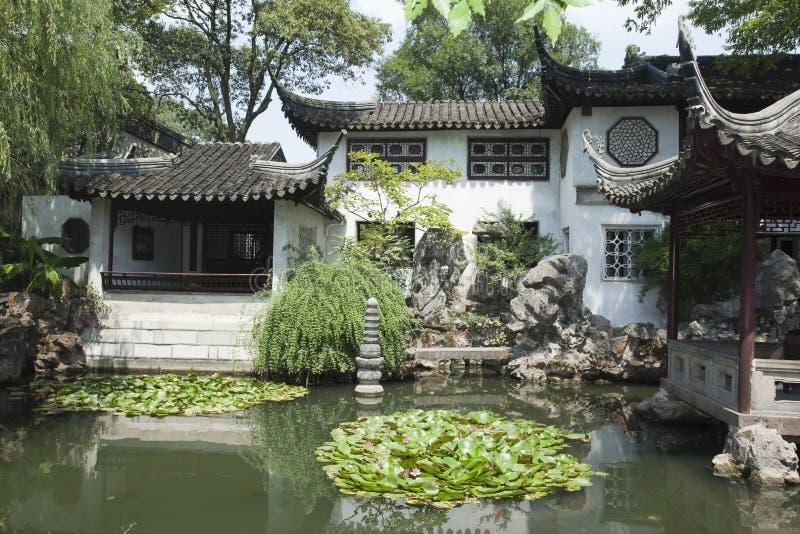 Архитектура Сучжоу классическая стоковое фото rf