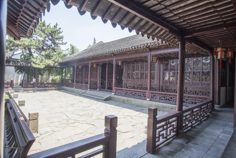 Архитектура Сучжоу классическая стоковые фотографии rf