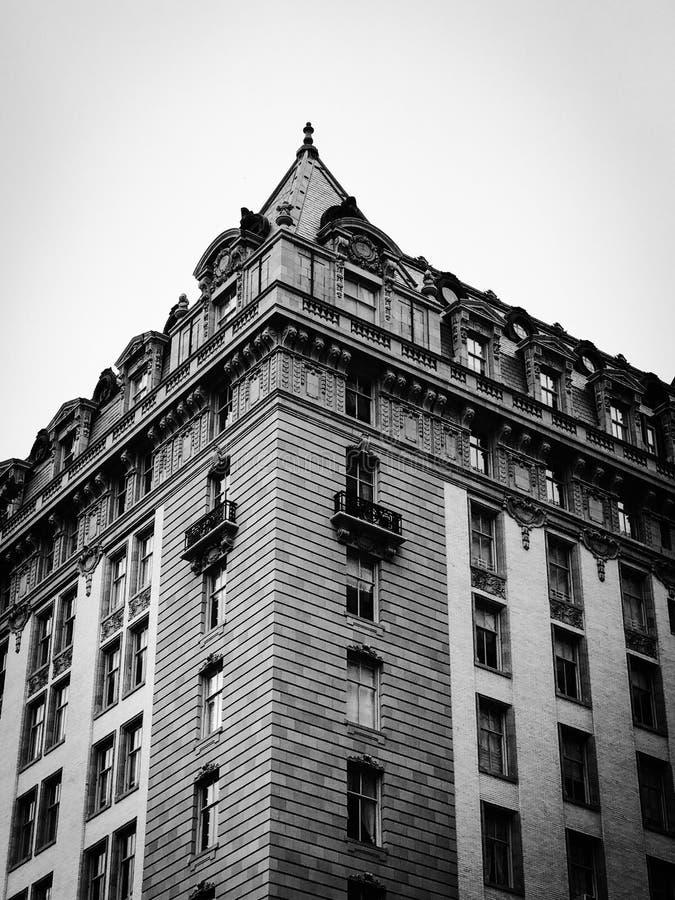 Архитектура черно-белая стоковая фотография