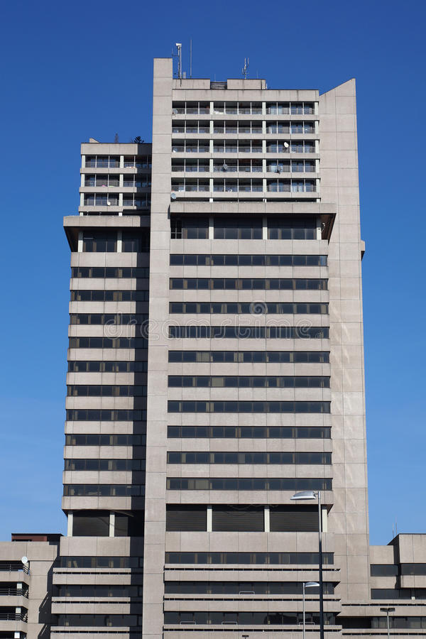 Архитектура Brutalist стоковое изображение rf
