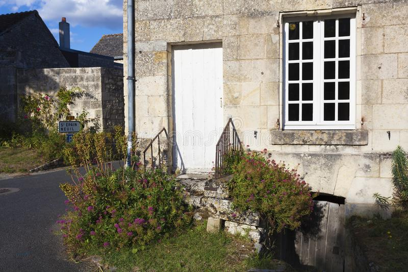 Архитектура Crissay-sur-Manse стоковое фото