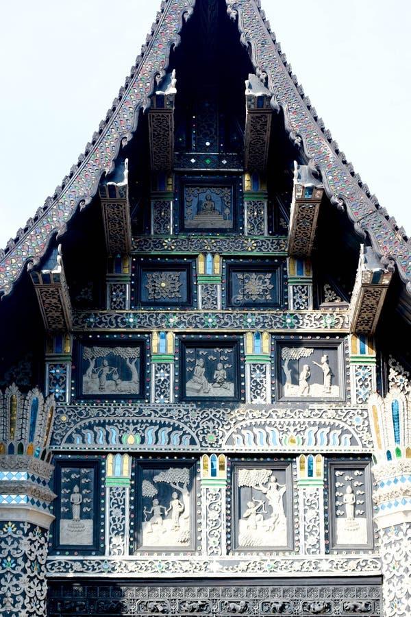 Архитектура Lanna Таиланда архитектуры Oill стоковые изображения rf
