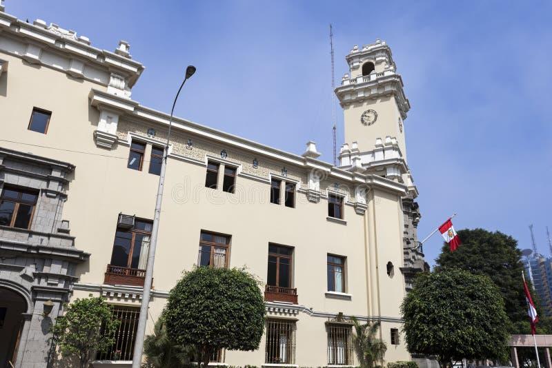 Архитектура Miraflores, Лимы стоковое изображение
