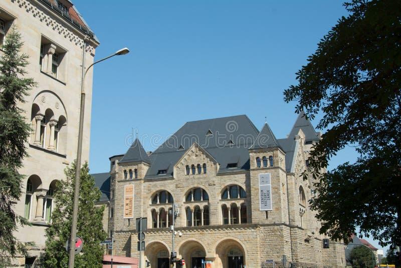 Архитектура Poznan стоковая фотография rf