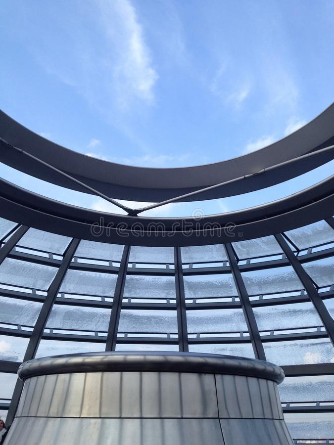 Архитектура Reichstag стоковая фотография