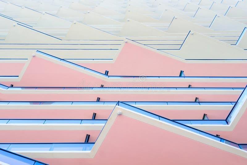 Архитектура SLS Майами Brickell стоковые изображения rf