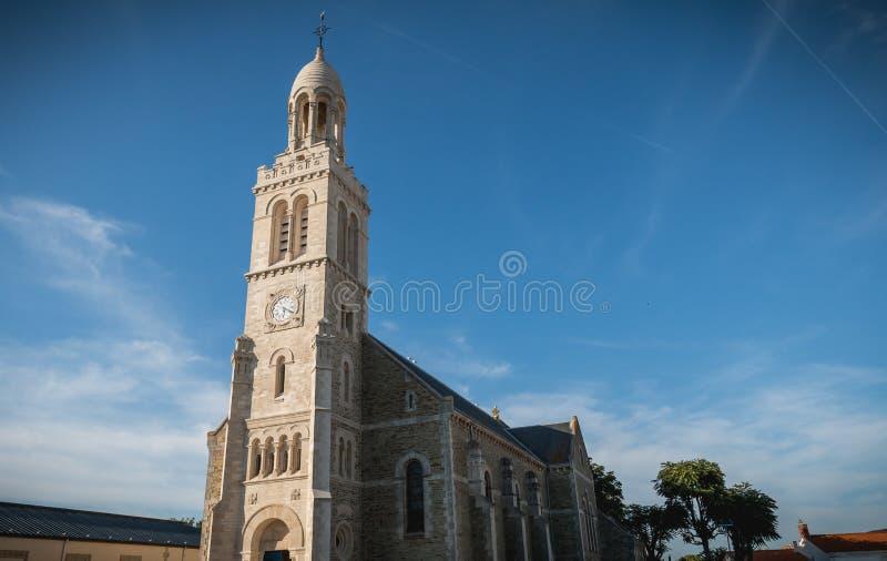 Архитектурноакустическая деталь экстерьера церков St Croix стоковое фото rf