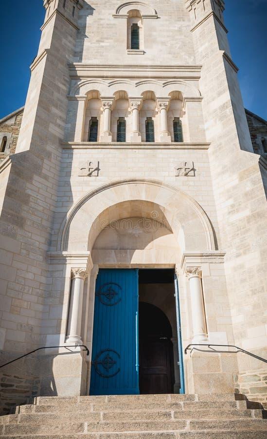 Архитектурноакустическая деталь экстерьера церков St Croix стоковые фото
