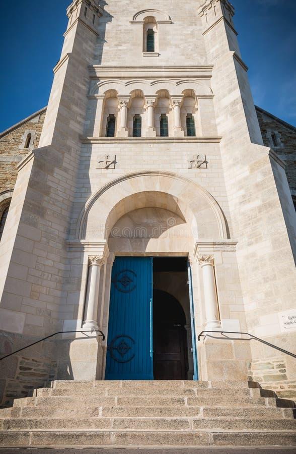 Архитектурноакустическая деталь экстерьера церков St Croix стоковые фотографии rf