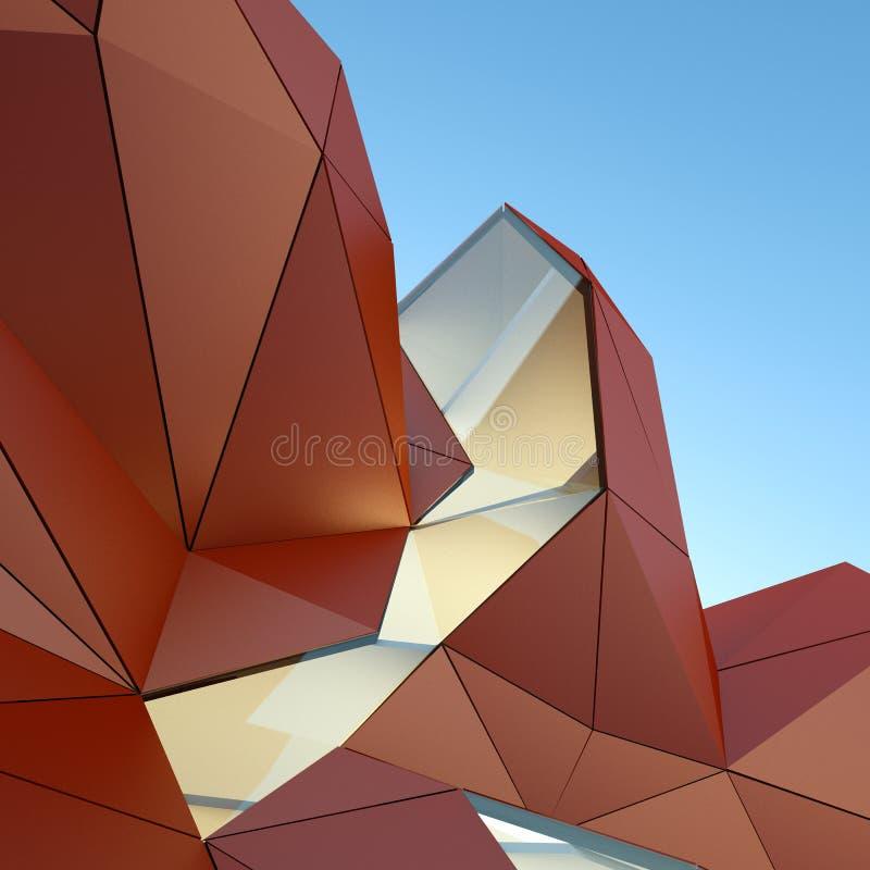 архитектурноакустическая предпосылка стоковые изображения rf