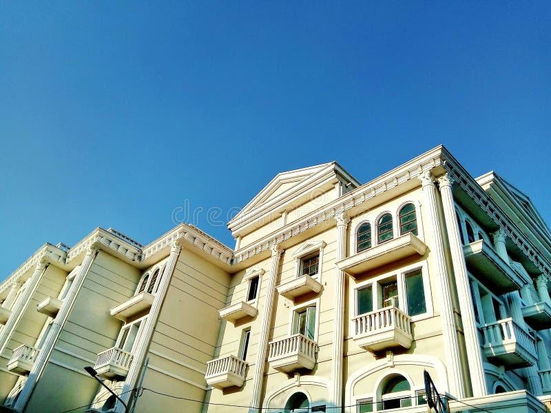 Архитектурноакустическая фотография Джакарта стоковое изображение