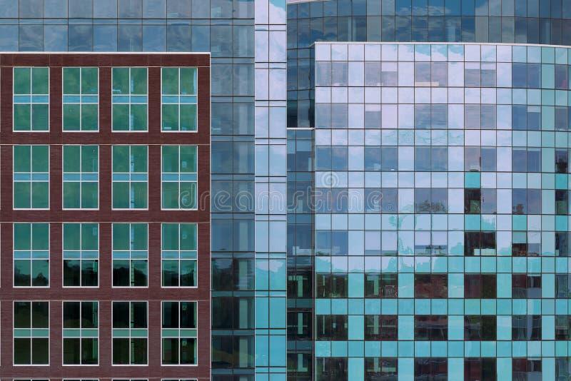 Архитектурноакустические конспекты в городском Halifax стоковое изображение rf