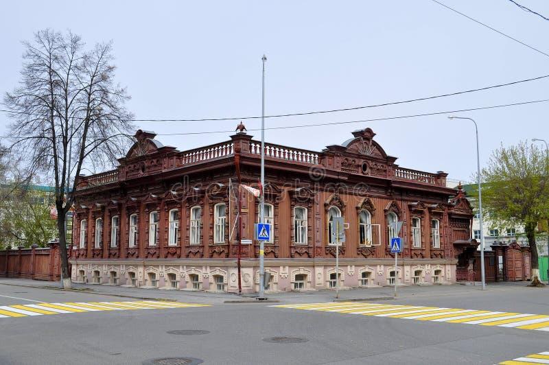 Download Архитектурноакустический и исторический памятник к Tyumen, Стоковое Фото - изображение насчитывающей историческо, окна: 40589530