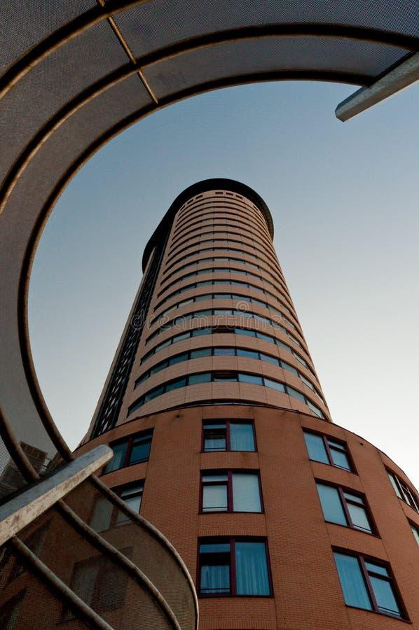 Архитектурноакустическое здание стоковое изображение