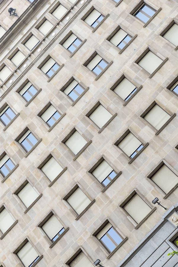 Архитектурноакустическое здание стоковое изображение rf