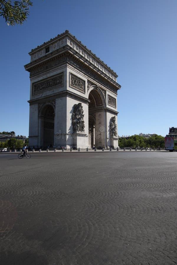 Арч Де Триомпюе стоковое изображение rf