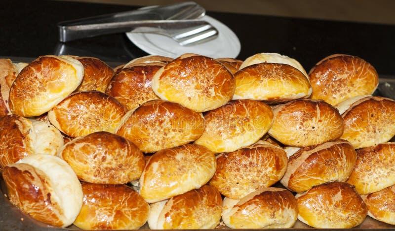Ассортимент испеченного фото хлеба стоковое изображение