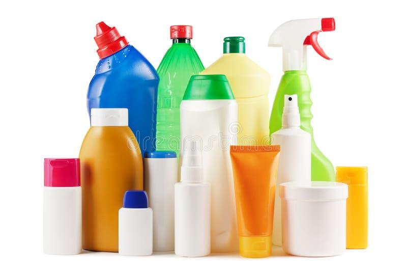 Пластичные бутылки стоковые фото
