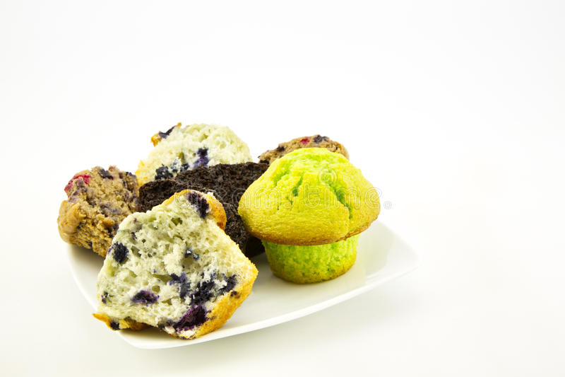 Ассортимент различных очень вкусных булочек стоковое изображение