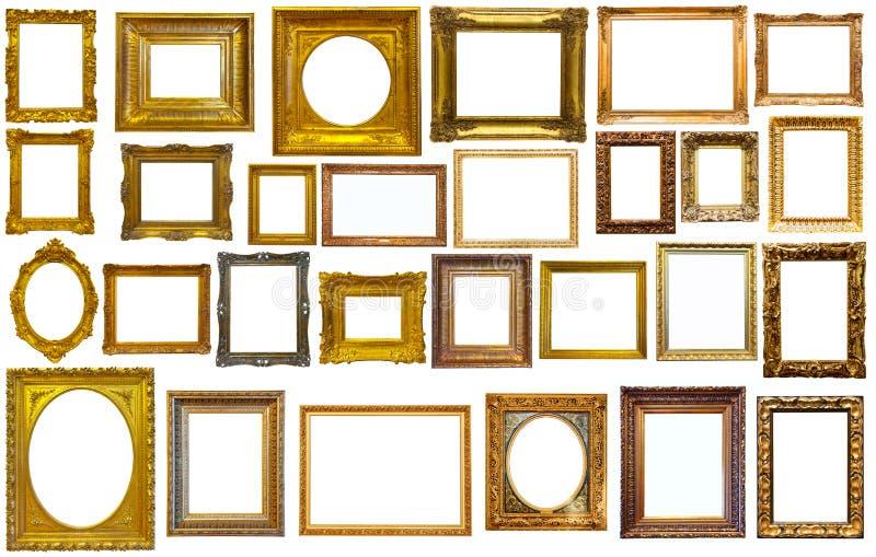 Ассортимент рамок искусства стоковое фото rf