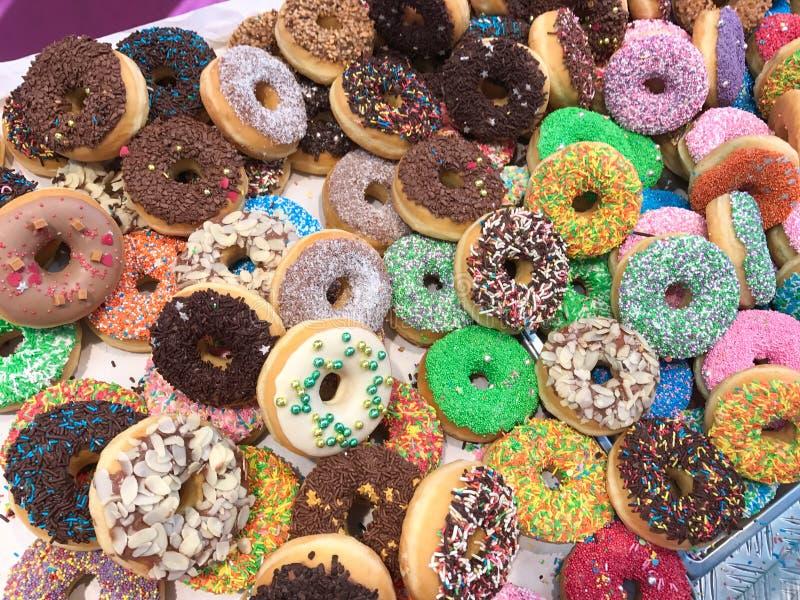 Ассортимент donuts стоковые изображения