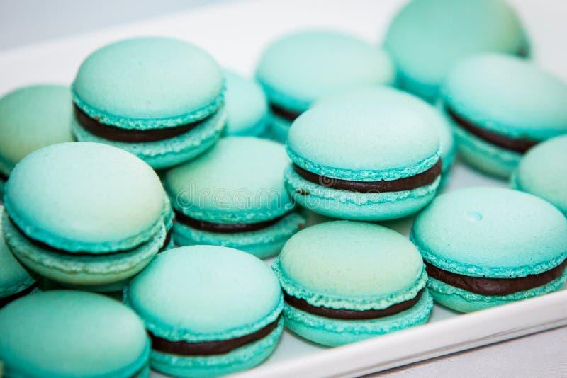 Ассортимент Macarons стоковые фотографии rf