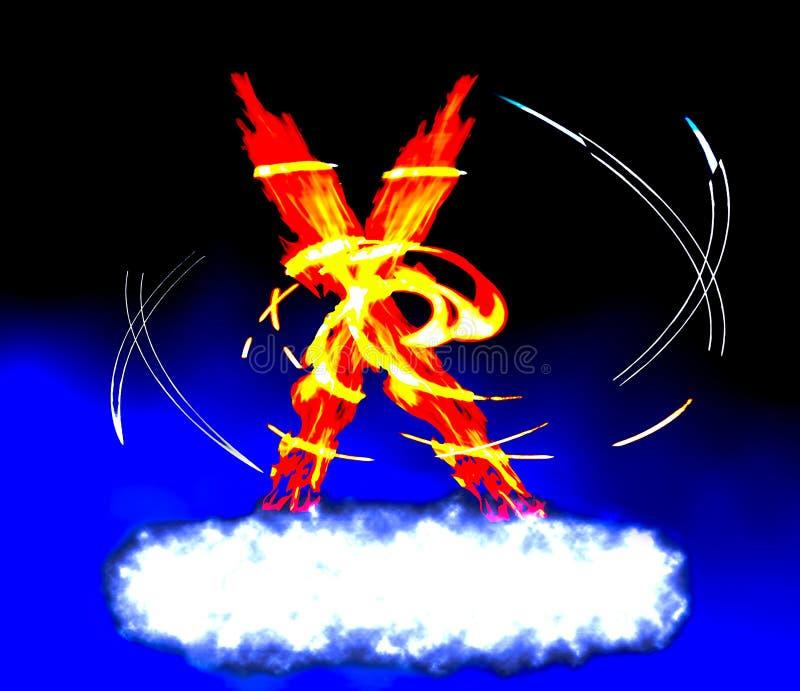 астральный ад x фактора стоковое изображение rf