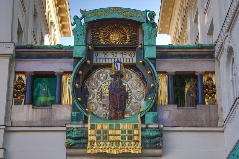 Астрономические часы - вена - Австрия стоковая фотография rf