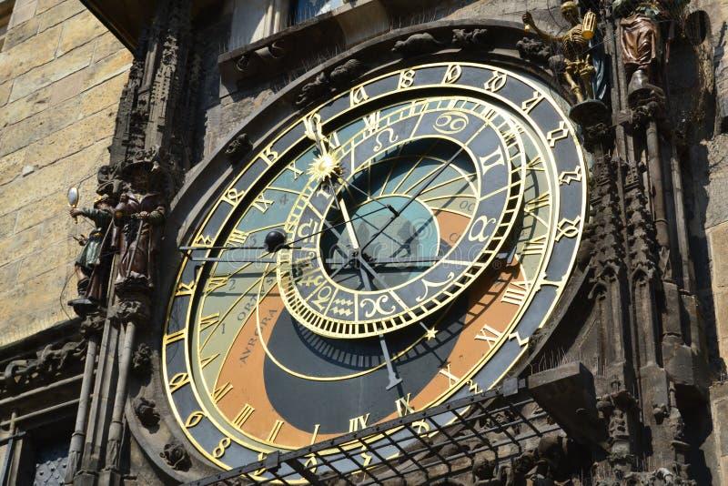 Download Астрономические часы в Staremesto Namesti в Праге Стоковое Изображение - изображение насчитывающей астролога, республика: 40581065