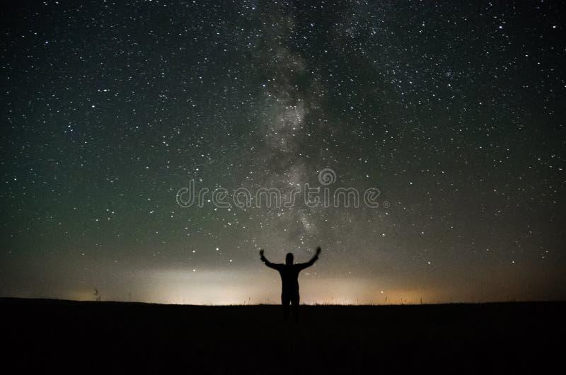 Астрофотография стоковая фотография