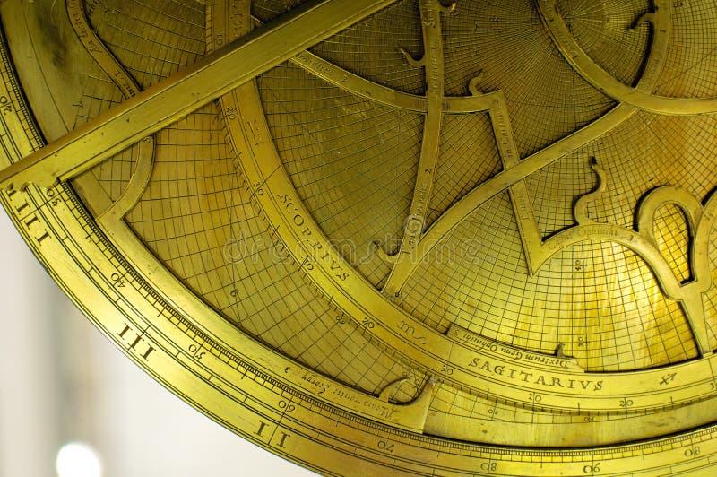 Астролябия стоковая фотография rf