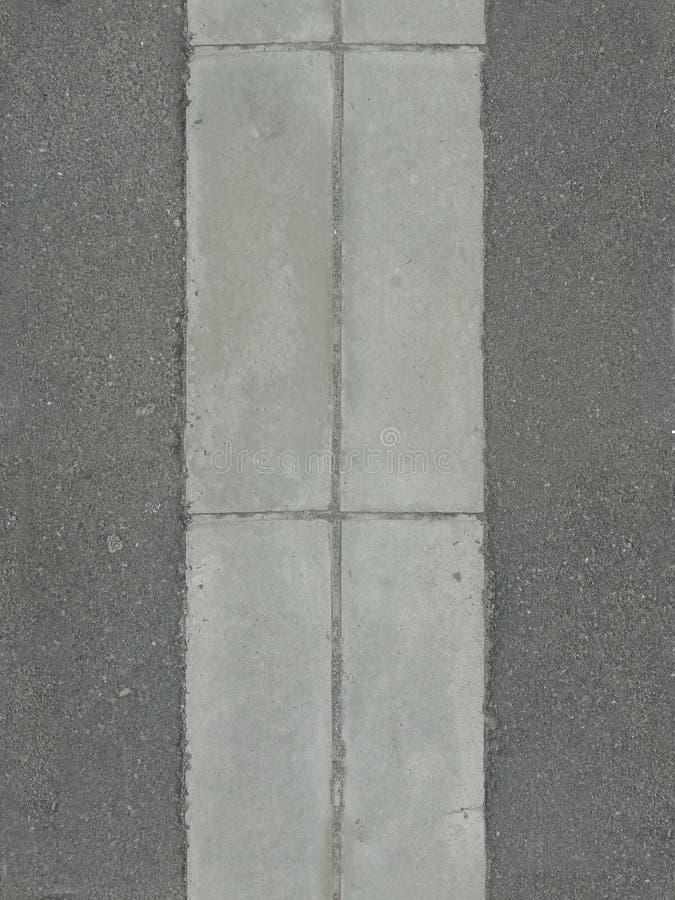 Асфальт сточной канавы Tileable стоковое изображение rf