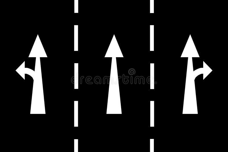 Асфальт - предпосылка стрелок черная стоковая фотография rf
