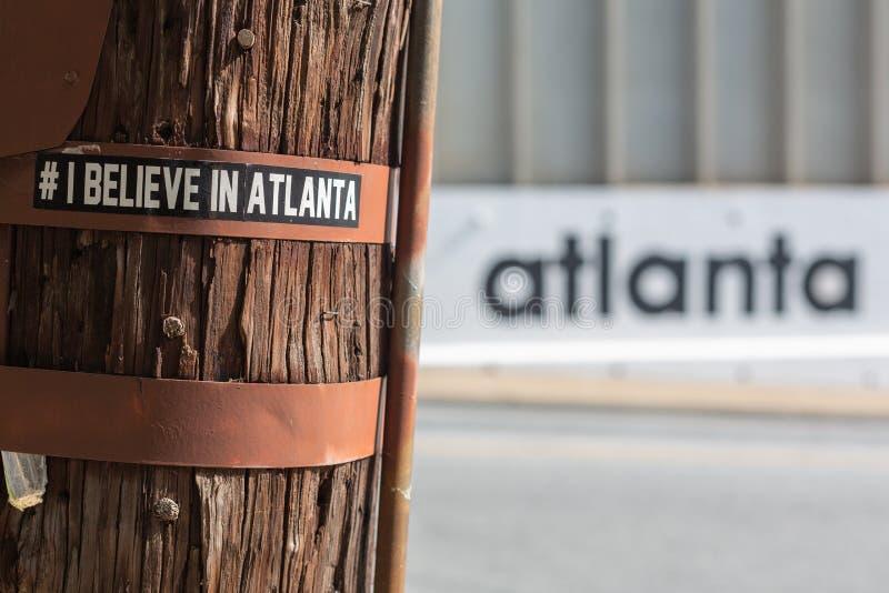Атланта: столица нового юга стоковые фото