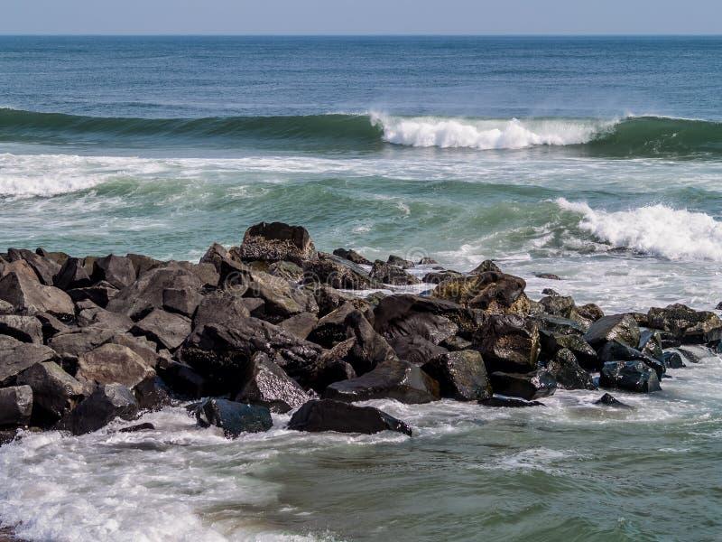 атлантический seascape стоковые фотографии rf