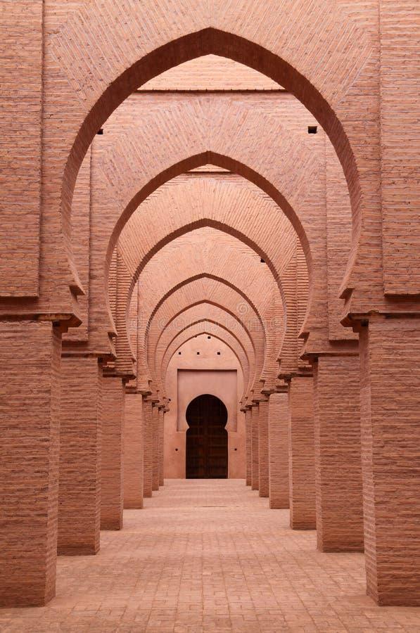 Атлас Марокко мечети Tinmal нутряной высокий стоковое фото