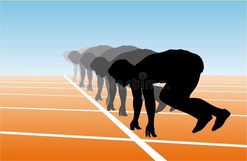 атлетика бесплатная иллюстрация