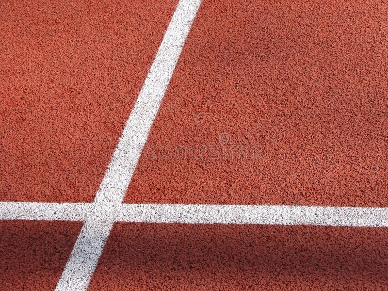 атлетический след стоковое фото rf