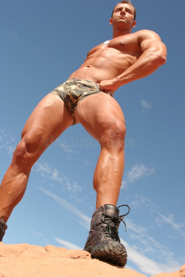 атлетический человек сексуальный стоковые фотографии rf