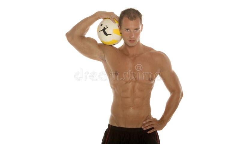 атлетический человек сексуальный стоковая фотография rf
