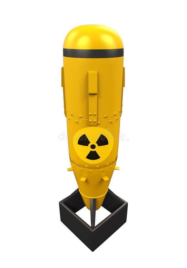 Атомная бомба иллюстрация вектора