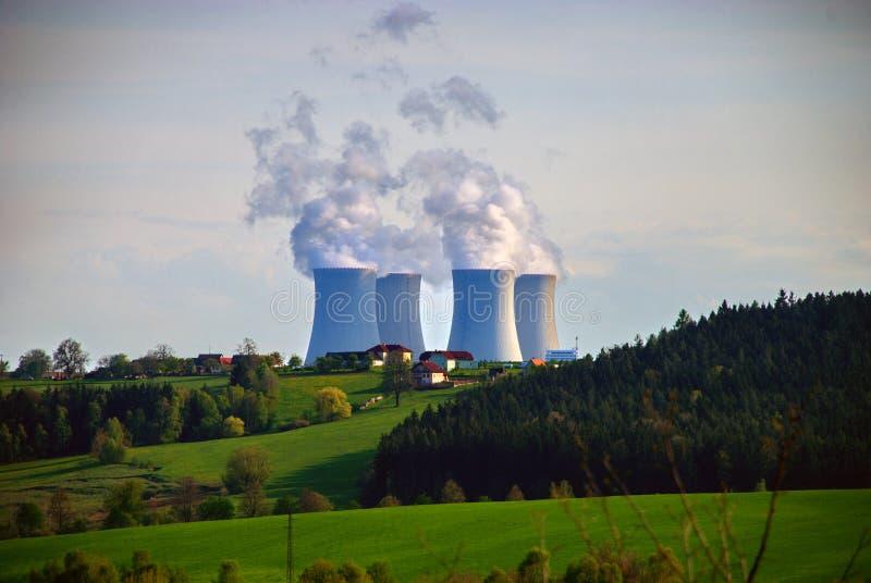 Атомная электростанция #3 стоковое фото