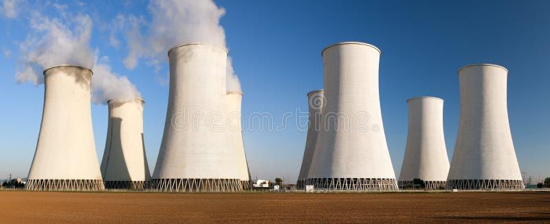 Атомная электростанция Jaslovske Bohunice - Словакия стоковые изображения