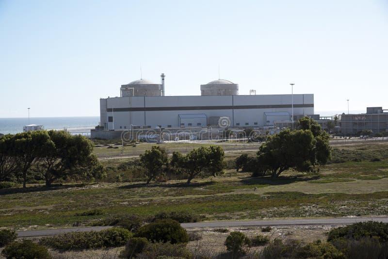 Атомная электростанция Melkbosstrand Южная Африка Koeberg стоковое изображение