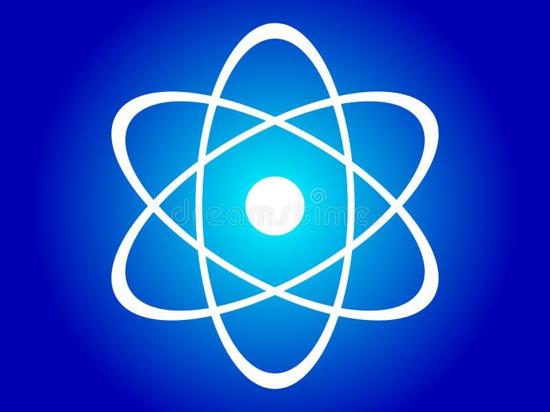 атомное строение иллюстрация штока