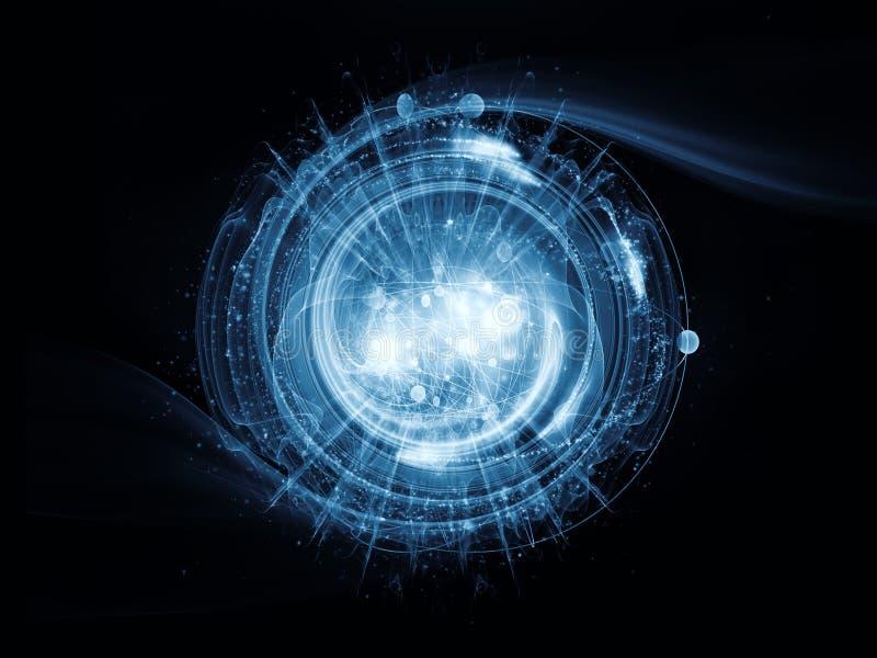 Атом иллюстрация вектора