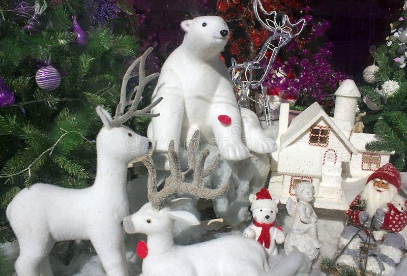 Атрибуты рождества стоковое изображение rf