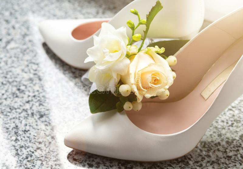 Атрибуты свадьбы невест Аксессуары свадьбы пустяки свадьбы стоковые фото