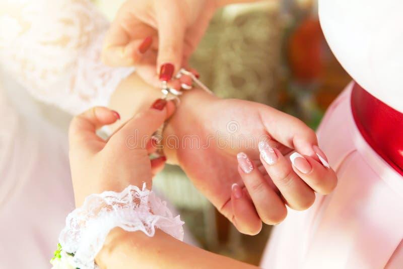 Атрибуты свадьбы невест аксессуары свадьбы пустяки свадьбы стоковое фото