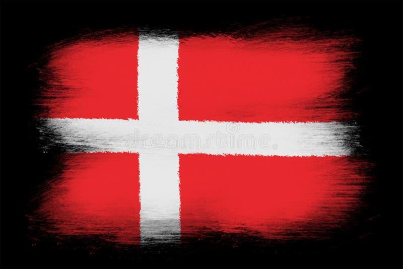 датский флаг бесплатная иллюстрация